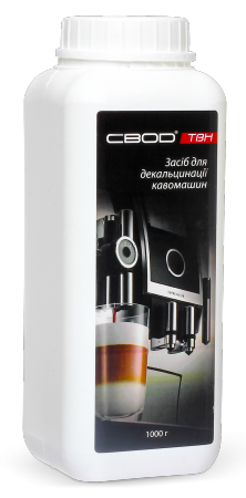 "An agent for coffee machines decalcification ""SVOD-TVN"", 1 KG"